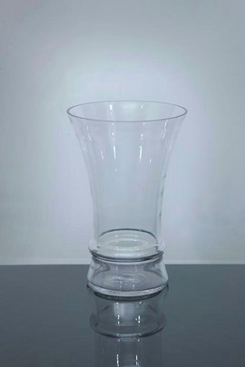 Short Trumpet Glass Vase 8